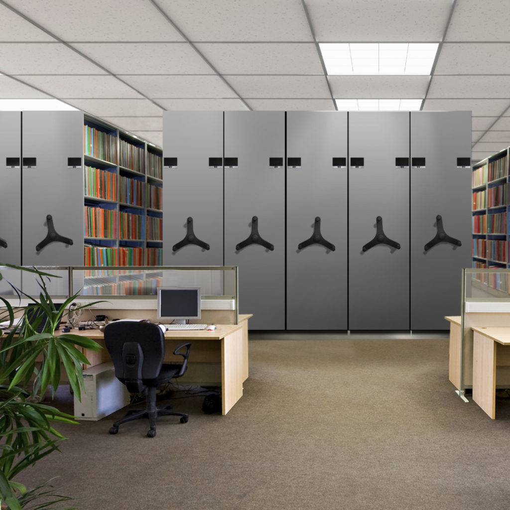 Role of Technology in Knowledge Management- library mechanical furniture